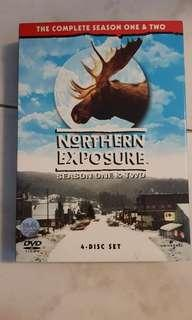 Northern Exposure DVD boxset Season One & Two