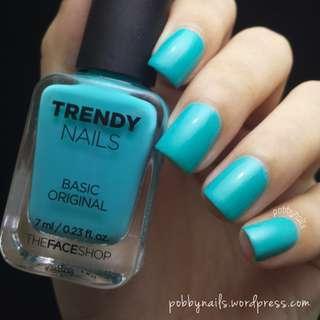 The Face Shop Trendy Nails GR502 nail polish
