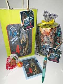 Customised Jurassic World Goodie Bag