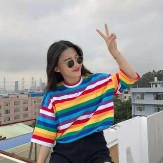 Korean Rainbow Top