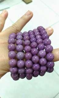 🚚 紫雲母8~9mm圓珠手串