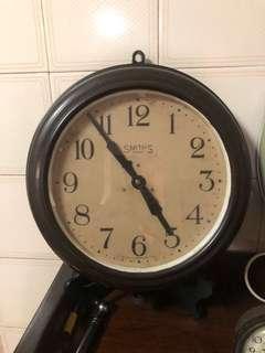 Vintage SmithS 8 day Clock