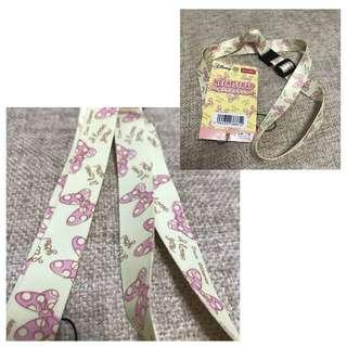 Minnie mouse ID lace