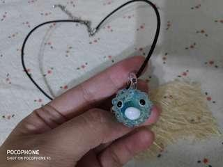 Puffy Fish Necklace