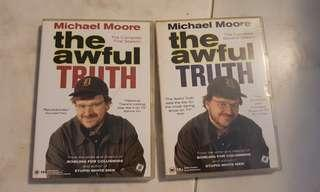 Michael Moore The Awful Truth DVD The Complete First and Second Season