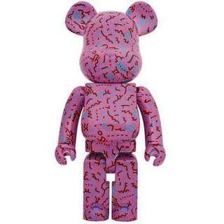 Medicom Toy Keith Haring version 2 1000% Bearbrick