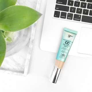 IT Cosmetics Your Skin Better CC+ Cream Oil-Free Matte with SPF 40