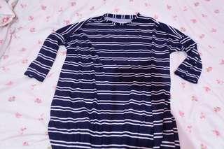 Long dress gfshop stripe