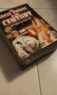 Compilation DVD boxset of The Greatest Events of our Century