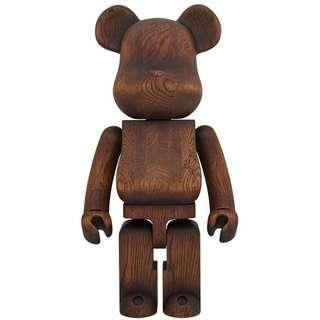 Medicom Toy Karimoku Antique Furniture 1000% Bearbrick