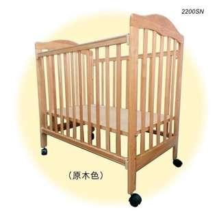 2200SN/2200SW - LA Baby嬰兒床連海馬床褥 + 送貨上門,只需$1,215 (19/10前訂購)
