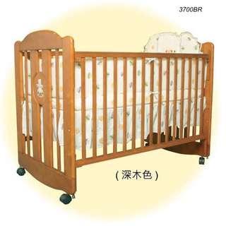 3700BR/3700WR - LA Baby嬰兒床連海馬床褥 + 送貨上門,只需$2,097 (19/10前訂購)
