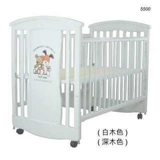 5500 - LA Baby嬰兒床連海馬床褥 + 送貨上門,只需$2,250 (19/10前訂購)
