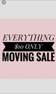 sale moving