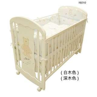 16010 - LA Baby嬰兒床連海馬床褥 + 送貨上門,只需$1,935 (19/10前訂購)