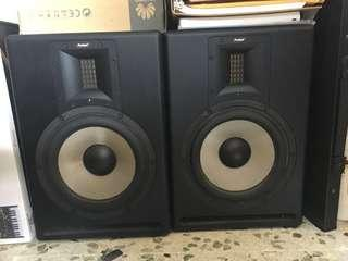 "8"" ribbon tweeter studio Monitors"