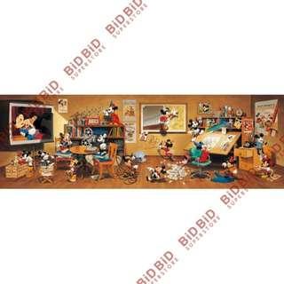 Disney Mickey 米奇 迷你 Jigsaw Puzzle 砌圖 拼圖 456pcs 日本製 歷代米奇大集合 迪士尼 米奇老鼠 米老鼠 90週年