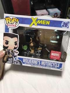 Marvel Collector Corps Funko Wolverine's Motorcycle