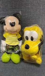Mickey Mouse 7吋毛公仔