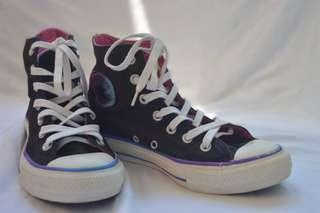 Converse high cut shoes for women