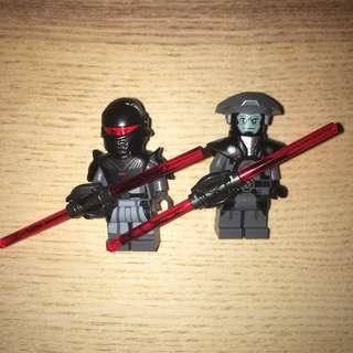 Lego Star Wars: inquisitor and lego imperial fifth brother inquisitor