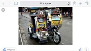 Wanted Trycicle Driver