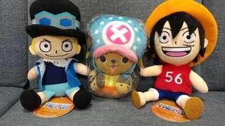 One Piece 7吋高毛公仔