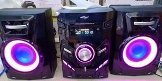 Konzert audio system