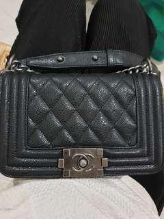 Chanel Boy Mini Black