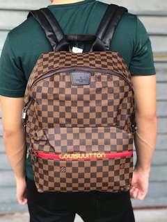 Ready Stock☑️ Lv Backpack Damier☑️ Grade 5AAA