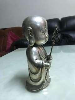 🚚 可愛Q版白銅地藏王銅相