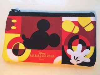 東京迪士尼大使酒店 米奇老鼠 拉鏈袋 Disney Ambassador Hotel