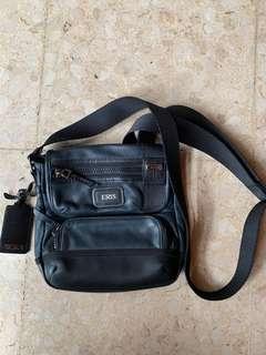 TUMI Alpha Bravo Barstow Leather Crossbody