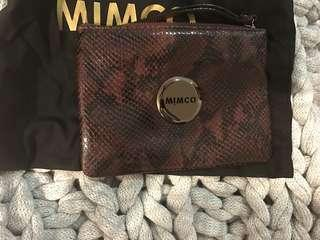 LIKE NEW! Authentic Mimco Pouche