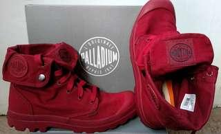 Palladium Pallabrouse All Red Canvas