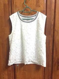 Kitschen White Lace Top