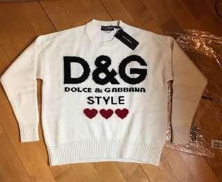 D & G sweater