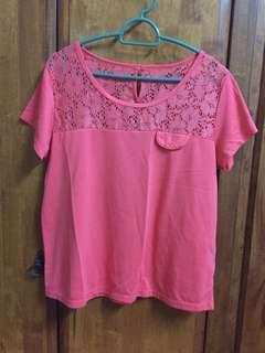 Padini Pink Top