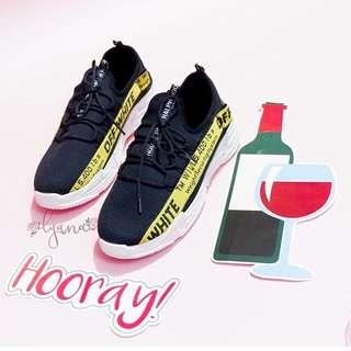 sepatu off-white