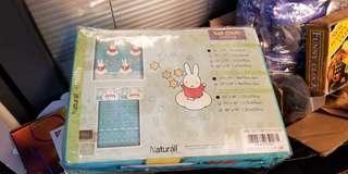 Naturall x Miffy單人 床冚、枕頭袋及被袋