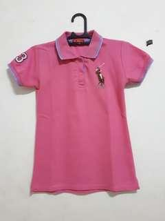 Pink Polo Shirt (KW)