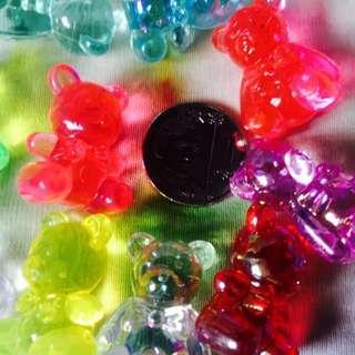 Acrylic Mini Bear Set