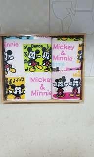 Mickey & Minnie Towel Set