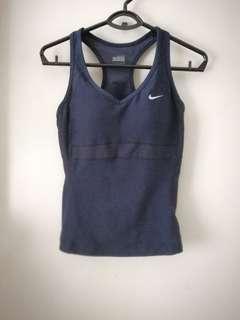 Nike padded gym sports yoga tank size S 有pad運動背心細碼