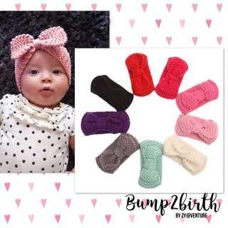 Newborn Knitted Headband
