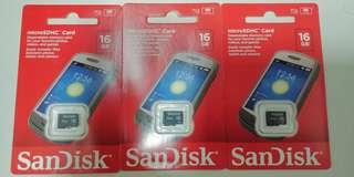 MicroSD 16 GB memory card