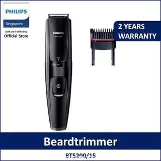 Philips BeardTrimmer Series 5000 - Stubble Trimmer Black