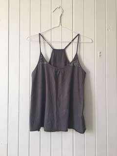Sequin Grey Camisole
