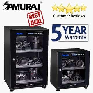 Samurai Digital Dry Cabinets/5 Years Warranty/Free Delivery!