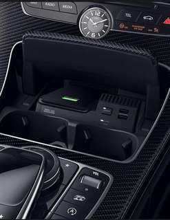 New gadget coming in soon! W253 GLC250 SUV/ Coupe wireless charging dock